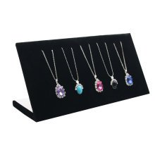Exquisite Necklaces Display Stand Bracelets Jewelry Tray Flannel Display Boards