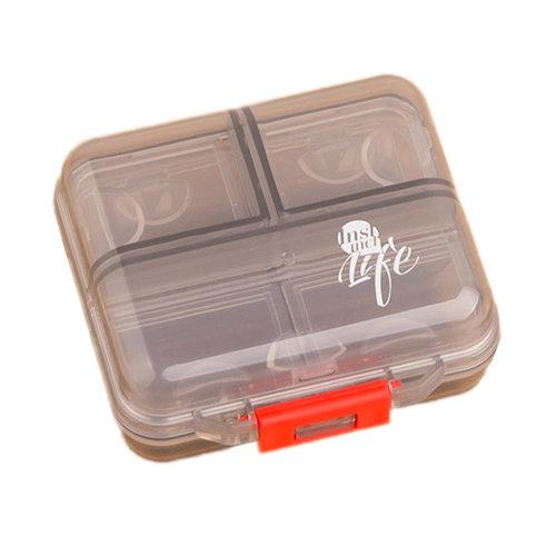 Portable 7 Day Pill Reminder Medicine Storage Pill Case Box     E