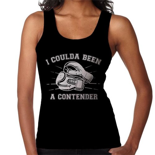 On The Waterfront Inspired Contender Quote Women's Vest