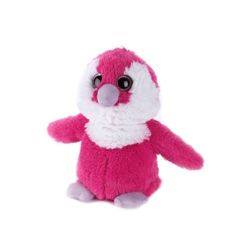 Warmies Penguin Pink Heatable Plush Animal Microwaveable Soft Toy Cozy Cuddly