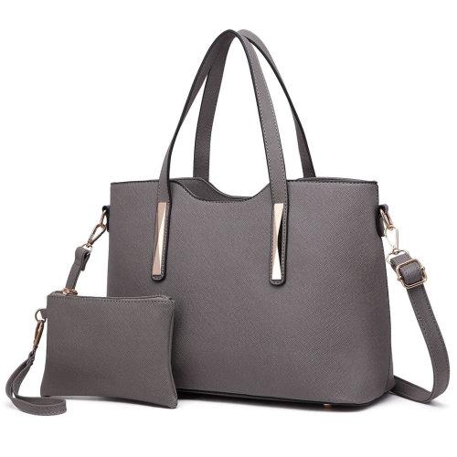 Miss Lulu Women's Shoulder Bag & Mini Pouch