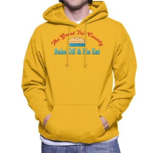 Stand By Me Tri County Bake Off Pie Eat Men's Hooded Sweatshirt