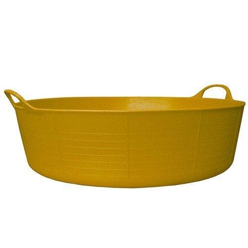 Gorilla Tubs SP35Y Gorilla Tub Shallow 35 Litre - Yellow