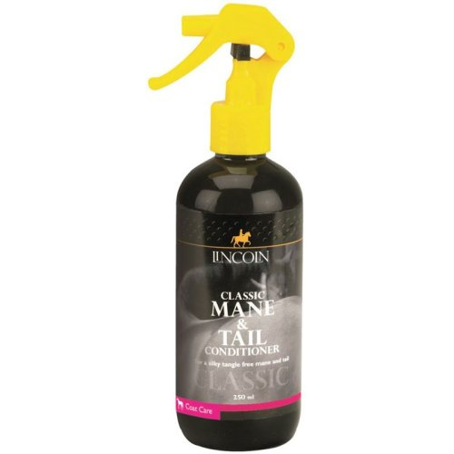 Lincoln Classic Horse Grooming Mane & Tail Conditioner Spray, 250ml