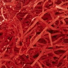 Red Shredded Paper 4kg Bag