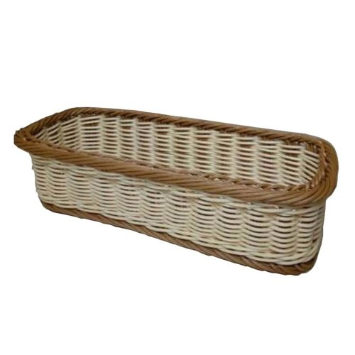 Rattan Chopsticks Basket Flatware Storage Tray Cutlery Organizer