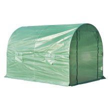 Outsunny Walk-in Greenhouse, 3 x 2 M-Green