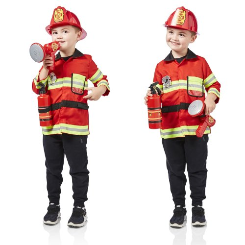 Milly & Ted Fireman Costume Play Set