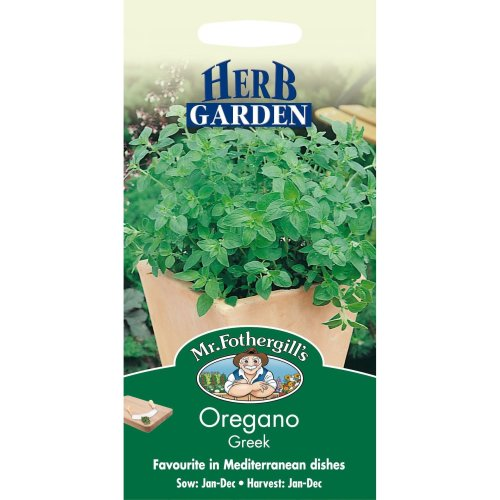 Mr Fothergills - Pictorial Packet - Herb - Oregano -Greek - 1500 Seeds