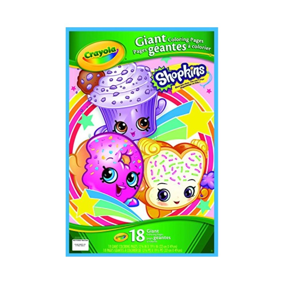 Crayola shopkins giant coloring pages on onbuy