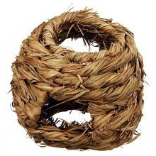 Trixie Grass Nest For Hamsters, 16cm - Natural Mice -  grass nest natural mice trixie