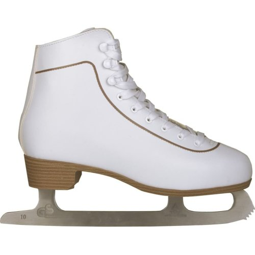 Nijdam Women's Figure Skates Classic Leather Size 43 0043-WIT-43