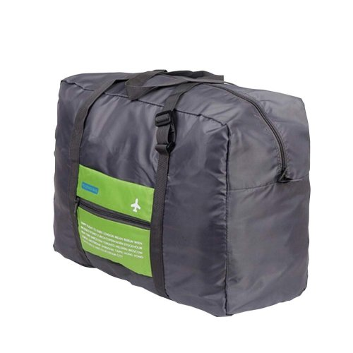 Large Duffel Bag Durable Travel Foldable Multifunctional Storage Bag Green