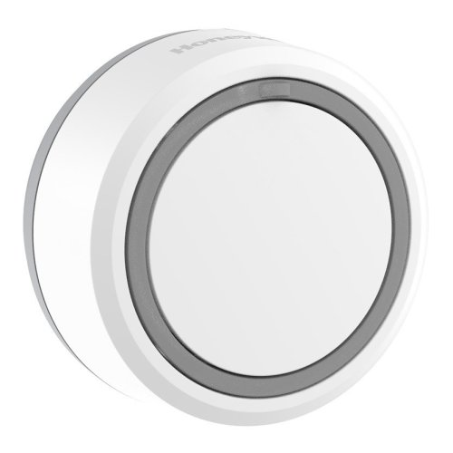 Wireless Push Button with Led Confidence Light – Round, White