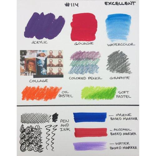 """Crescent Watercolor Board 3/Pkg-5""""X7"""" White"""