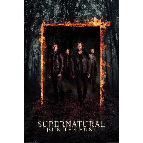 Maxi Poster Supernatural Burning Gate
