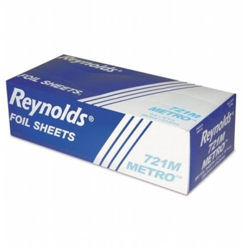 Reynolds Food Packaging RFP721M Reynolds Wrap Metro Pop-Up Aluminum Foil Sheets