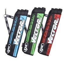 EXE Archery Vector 3 Tube Belt Quiver for Right or Left Hand