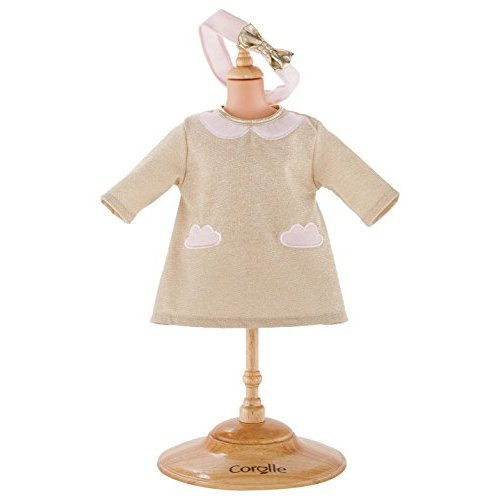 """Corolle 14"""" Dress Sparkling Clouds Fashion Set Baby Doll"""