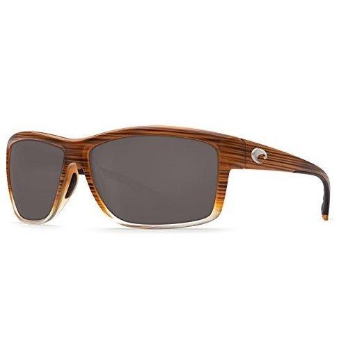 Costa Del Mar Mag Bay Polarized Wood Brown Sunglasses - AA-81-OGGLP