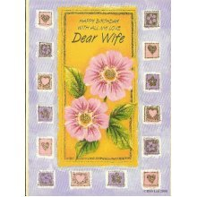 Happy Birthday with all my Love Dear Wife Greeting Card
