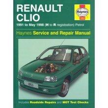 Renault Clio Petrol Service and Repair Manual ; 1991 to May 1998 (Haynes Service and Repair Manuals)