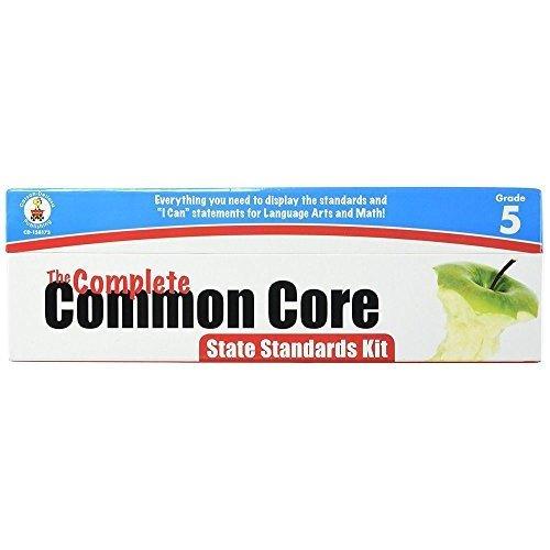 CDP158173 - Carson Dellosa Common Core State Standard Pocket Chart Cards