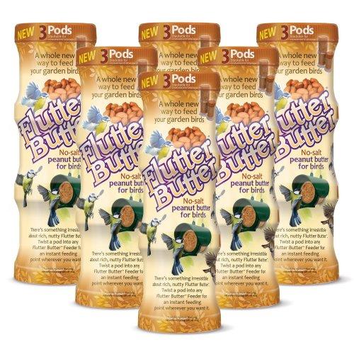 Flutter Butter Original Peanut Pods 18 Pack