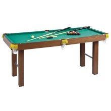Homcom 4ft Mini Pool Table Billiards Tabletop Snooker Toy