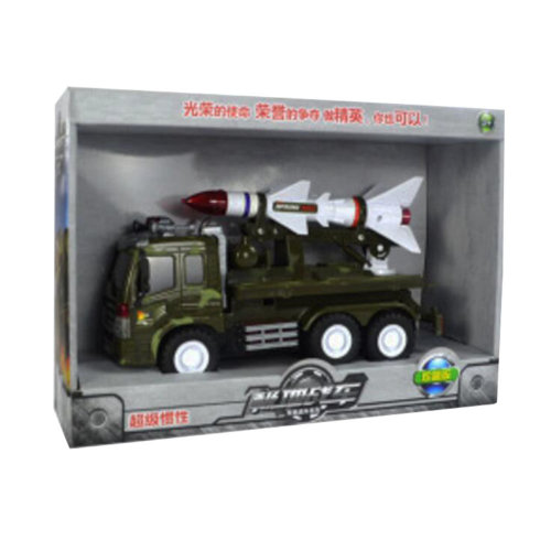 Toy Gifts/Toy Cars/ Trucks/Soldier Children Military Play Set Toy Rocket Car