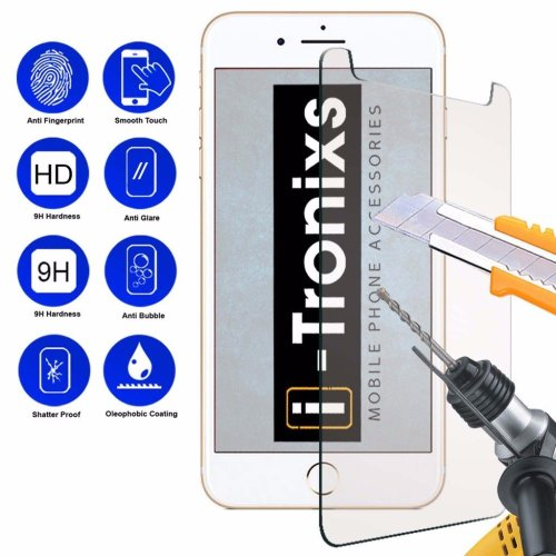 "iTronixs - Elephone Soldier (5.5"") 9H Protection Glass Armor Protective Film Screen Protector Tempered Glass Anti Scratch Laminated Glass"