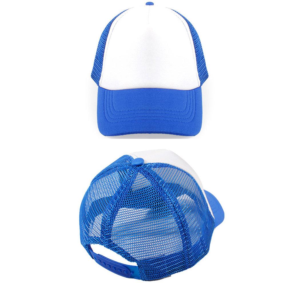 ... Children s Baseball Cap Fitted Hat Sports Hats Mesh Back Cap 8db37d0b5ddc