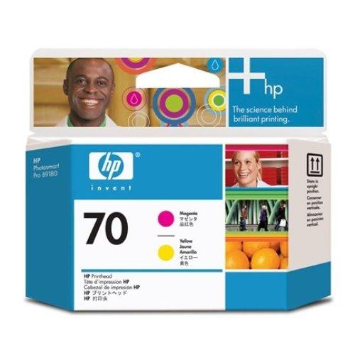 HP No. 70 Ink Printhead - Magenta & Yellow (Z2100/Z3100/Z3200)
