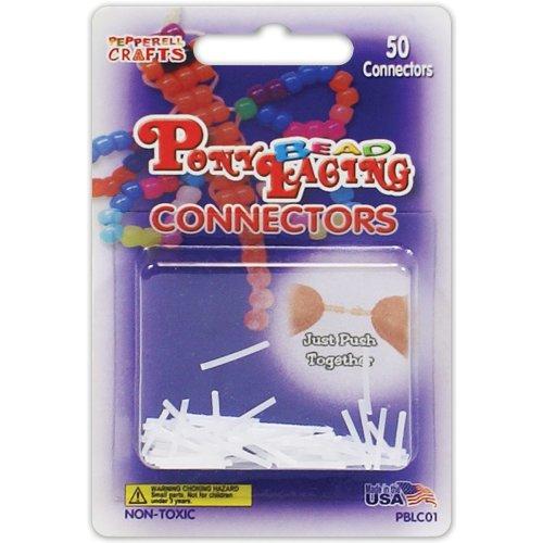 Pony Bead Lacing Connectors 50/Pkg-