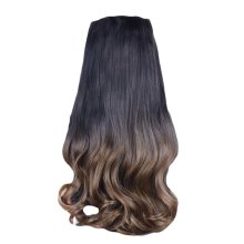 One-piece Gradient Clip-on Hair Extensions Hairpieces 5 Clips 20""