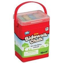 Toysmith Mini Sidewalk Chalk (20 Piece)