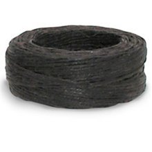25yd Brown Linen Waxed Thread -  waxed thread 25ydbrown