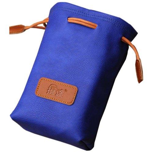 Blue Camera Pouch Camera Lens Bag Lens Bag