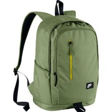 Nike NK ALL ACCESS SOLEDAY BKPK S Backpack, Man, Green (Palm Green/ElectroLime/White), One size