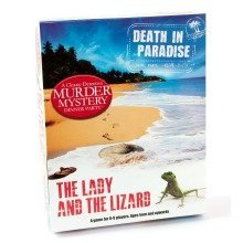 Death in Paradise Murder Mystery Game - Lady and the Lizard