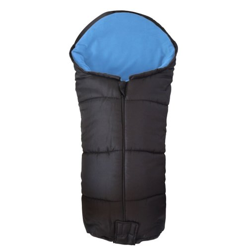 Deluxe Footmuff / Cosy Toes Compatible with Bebecar Spot Pushchair Blue