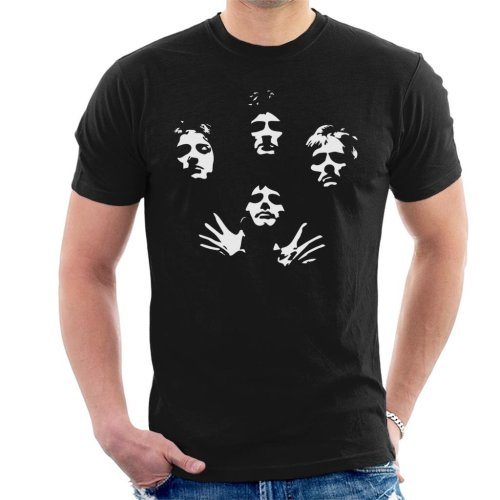 Queen Bohemian Rhapsody Icon Silhouettes Men's T-Shirt
