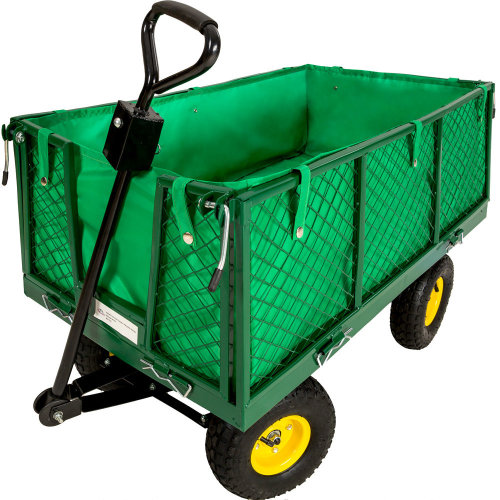 Garden Trolley with inner lining max. 550kg