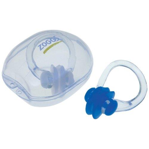 Zoggs Soft Silicone Swim Nose Clip - Swimming Clear -  nose zoggs clip swimming clear