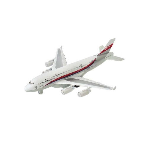 Children's Aircraft Model Toys Simulation Fighter / Airliner Boy Gift_A380#1