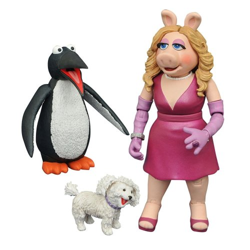 Figure Foo Action Miss The 3 May168097 Muppets Series Select Piggy OwkNn0P8X