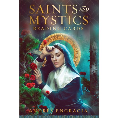Saints and Mystics Reading Cards: 36 full colour cards and 120 page guidebook