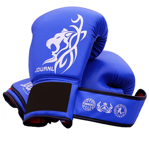 Premium MMA Muay Thai Training  Boxing Gloves - Blue