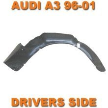 Audi A3 8l 1996-2001 Right Drivers Front Wheel Arch Liner Inner Wing Splashguard