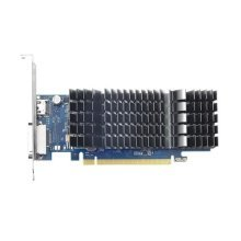 Asus GeForce GT1030, 2GB DDR5, PCIe3, DVI, HDMI, 1506 MHz, Low Profile (With Bracket), Silent